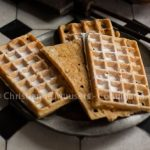 Split waffles (Christianne). Printed in magazine Herenhuis 80 (November 2020), will later be published on Coquinaria